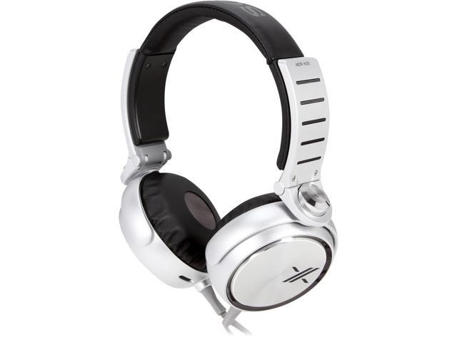 SONY Black/Silver MDR-X05/BS Headphones, Black/Silver