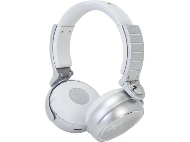 SONY White/Silver MDR-X05/WS Headphones, White/Silver