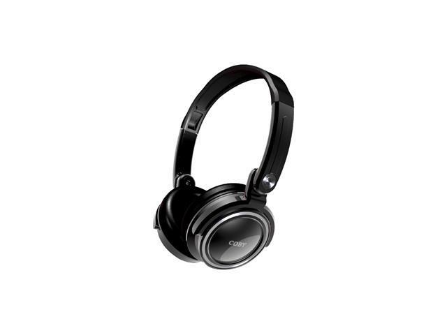COBY CV185 3.5mm Connector Circumaural Folding Deep Bass Stereo Headphone