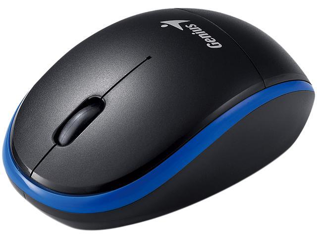 Genius Traveler 9000 31030777103 Blue 3 Buttons 1 x Wheel USB RF Wireless 1200 dpi Mouse