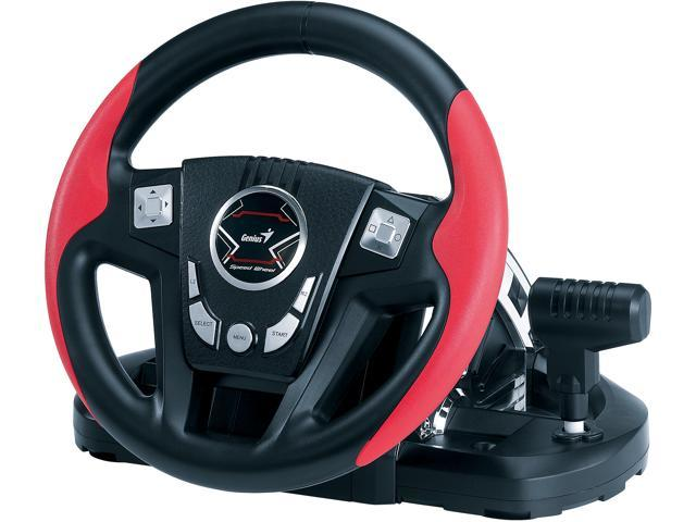 Genius 31620006101 Speed Wheel 6 MT Gaming Racing Wheel