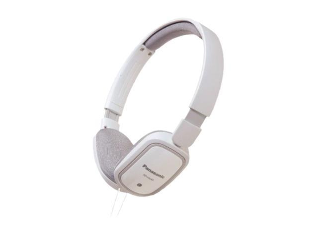 Panasonic RP-HX40-W 3.5mm Connector On-Ear SLIMZ Light-Weight Headphone - White