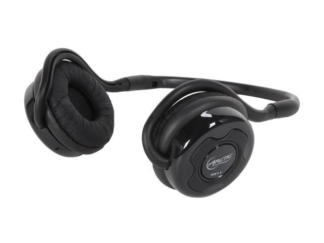 ARCTIC P311-Black On-Ear Bluetooth Headset, ideal for Sports, 70 hours playback