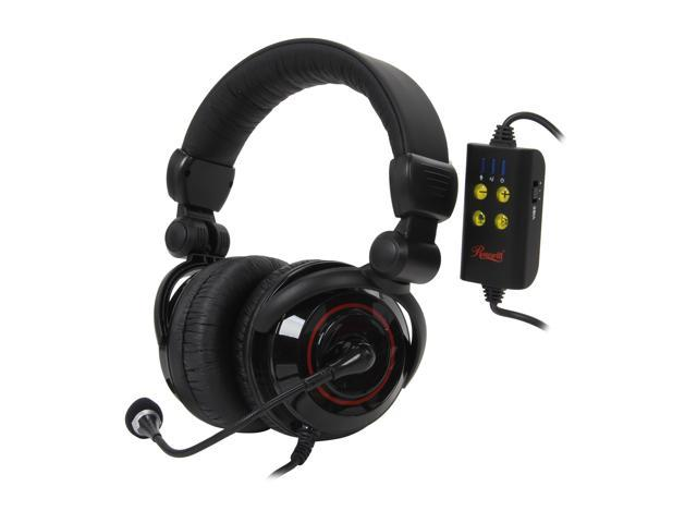 Rosewill RHTS-8206 USB Connector 5.1 Channel Vibration Gaming Headset