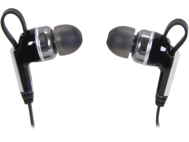 Rosewill R-Studio E-860 Noise Isolating Earbuds, Tangle-free Flat Cable, 3.5mm Connector
