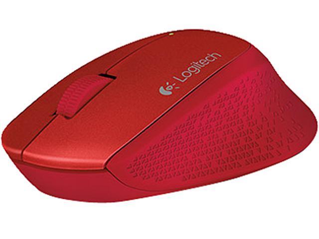 Logitech M320 910-004354 Red 3 Buttons 1 x Wheel USB RF Wireless Optical 1000 dpi Mouse