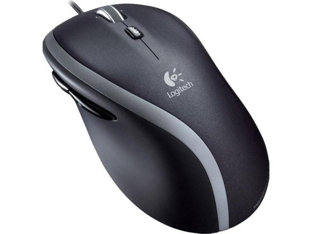 Logitech M500 910-003726 Black 7 Buttons Tilt Wheel USB Wired Invisible laser 1000 dpi Mouse