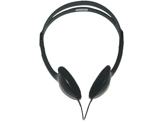 inland 87010 3.5mm Connector Supra-aural Lightweight Headphones with Volume Control