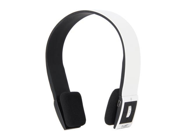 inland 87092 Supra-aural ProHT Bluetooth Headset (White)