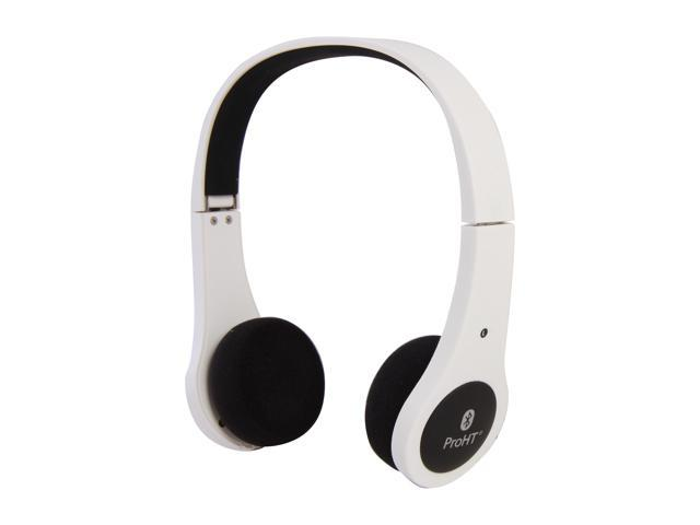 Foldable Bluetooth Headset - White