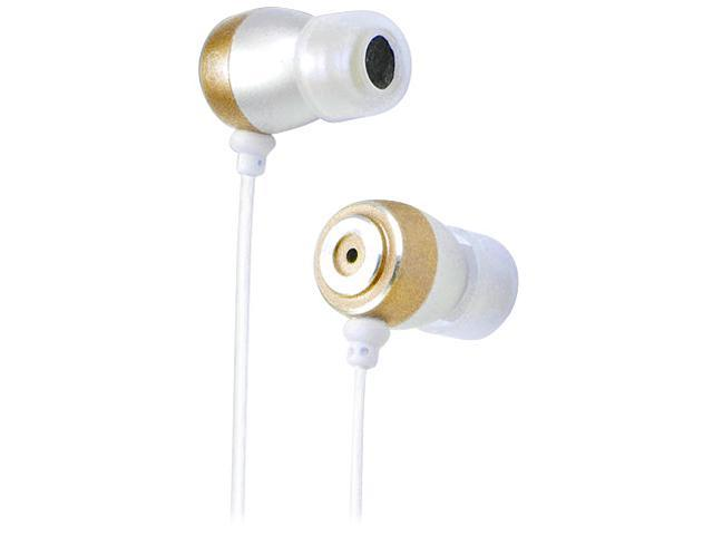 inland Silver 87104 3.5mm Earbuds Metallic