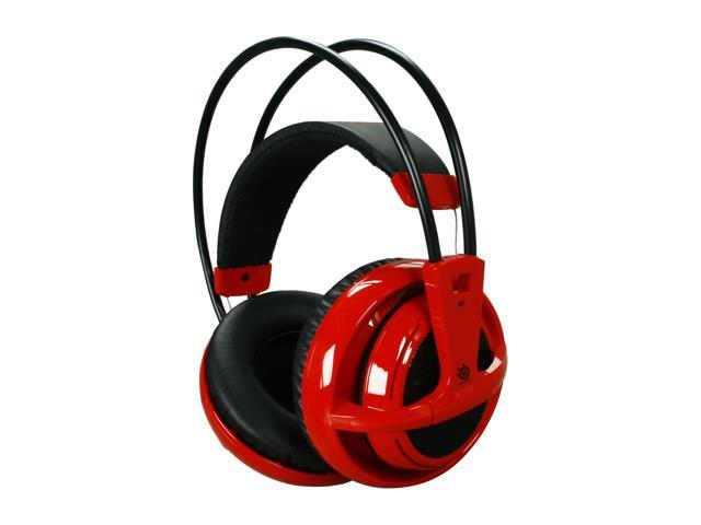 SteelSeries Siberia V2 3.5mm Connector Circumaural Full-size Headset - Red