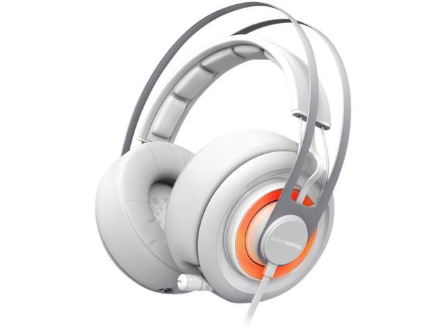 SteelSeries Siberia Elite 3.5mm/ USB Connector Circumaural Headset - White