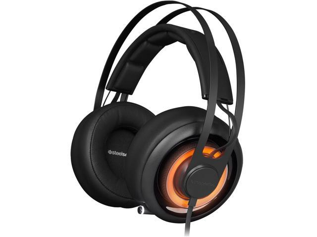 SteelSeries Siberia Elite Prism Jet Black Gaming Circumaural Headset