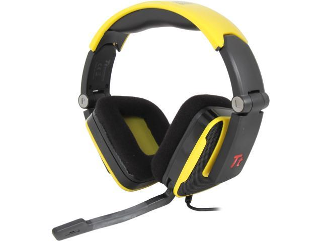 Tt eSPORTS SHOCK 3.5mm x2 Connector Headset - Sunfire Yellow