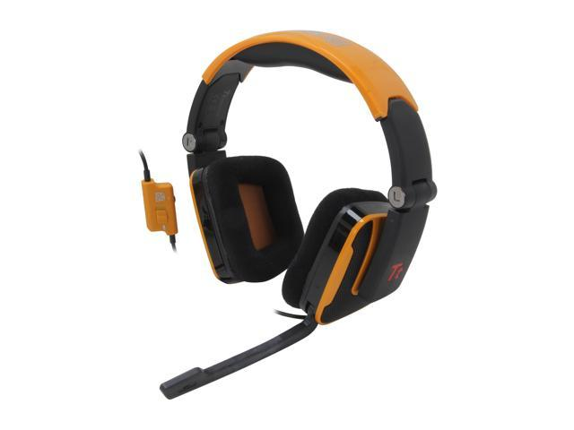 Tt eSPORTS SHOCK 3.5mm x2 Connector Headset - Dynamite Orange