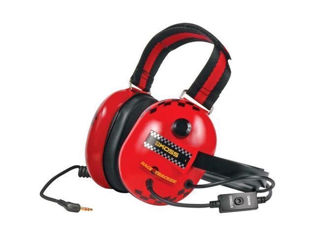 KOSS RACE TRACKERR Race Tracker Passive Noise Reduction Headphone