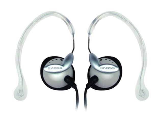 KOSS 174706 3.5mm/ 6.3mm Connector Supra-aural Sportclip Headphones