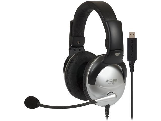 KOSS SB45 USB USB Connector Circumaural Communication Headset
