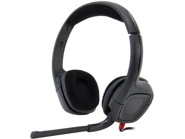 PLANTRONICS GameCom 85750-01 3.5mm Connector Circumaural 307 Stereo Gaming Headsets
