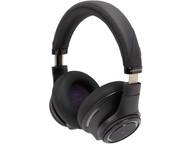 Plantronics Backbeat Pro Wireless Active Noise Cancelling Headphones with Mic – Black