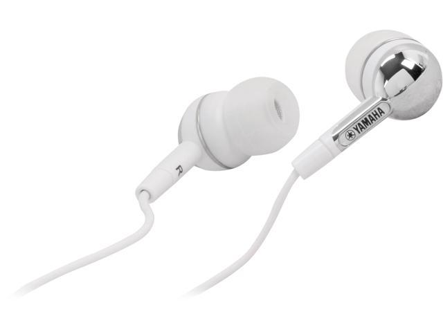 Yamaha White EPH-30WH 3.5mm Connector Canal In-ear Headphone