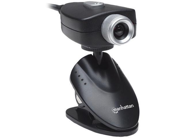 Manhattan Webcam - 5 Megapixel - Black - USB 1.1