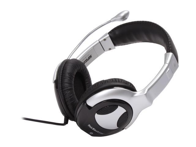 TekNmotion TM-YB100A 3.5mm Connector Circumaural Black Yapster Universal Gaming Headset