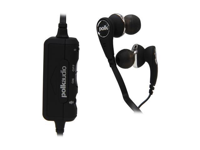 Polk Audio Black UltraFocus 6000 In-Ear Canal Active Noise Cancelling Headphone