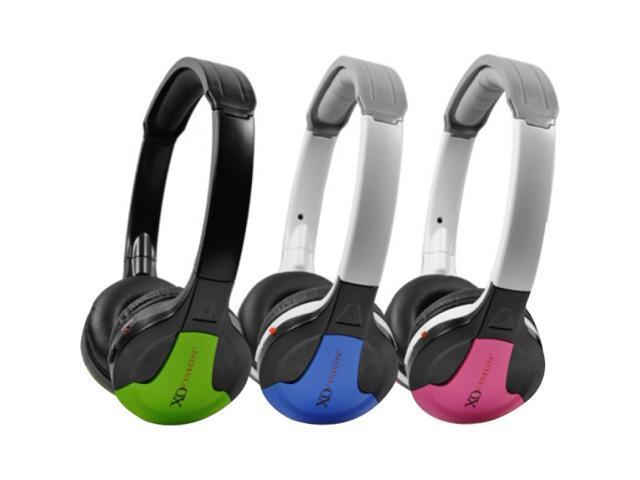 XO Vision Blue IR630B Universal IR Wireless Foldable Headphones, Blue