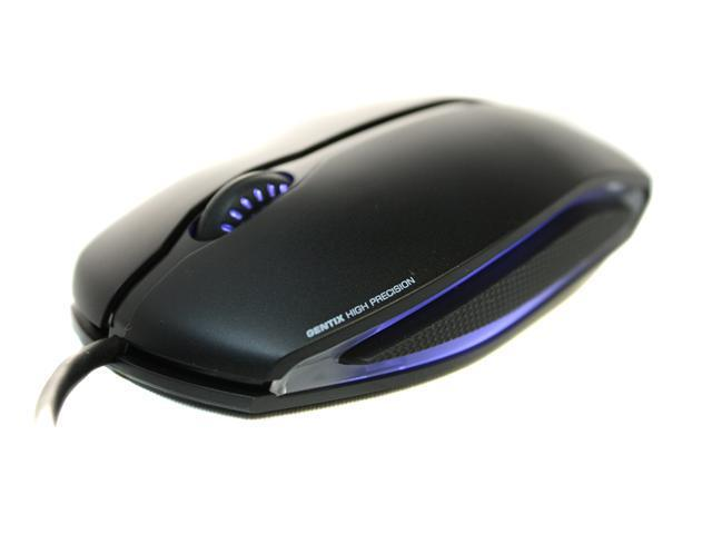 Cherry Gentix Black 3 Buttons 1 x Wheel USB Wired Optical 1000 dpi Illuminated Mouse