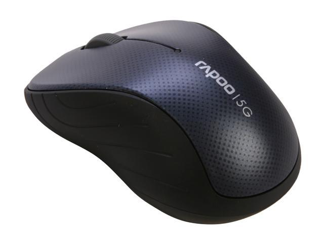 Rapoo 3000P Blue 3 Buttons 1 x Wheel USB 5GHz Wireless Optical 1000 dpi Mouse