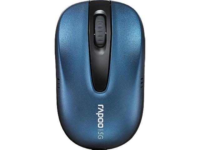 Rapoo 1011-07G30-800 Blue RF Wireless Optical Mouse