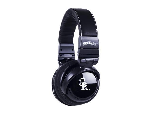 BiGR Audio XLMLBCR1 3.5mm Connector Over-Ear Colorado Rockies Headphones with In-Line Mic