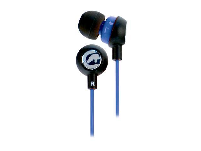 Ecko EKU-CHA2-BL 3.5mm Connector Canal Chaos 2 Ear Buds - Blue