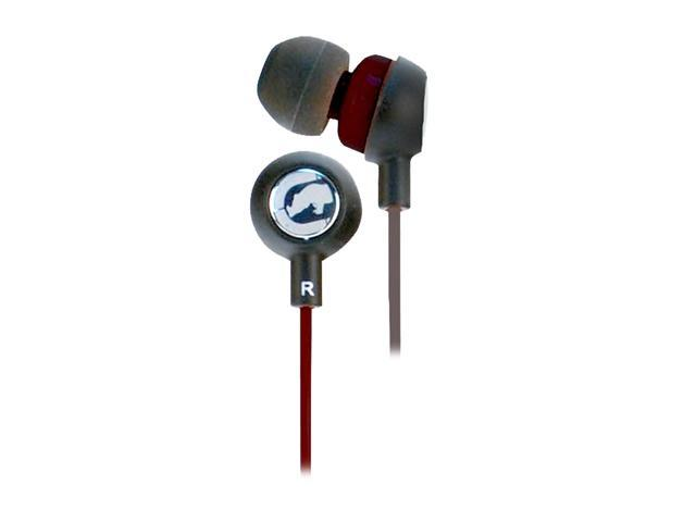 Ecko EKU-CHA2-BK 3.5mm Connector Canal Chaos 2 Ear Buds - Black
