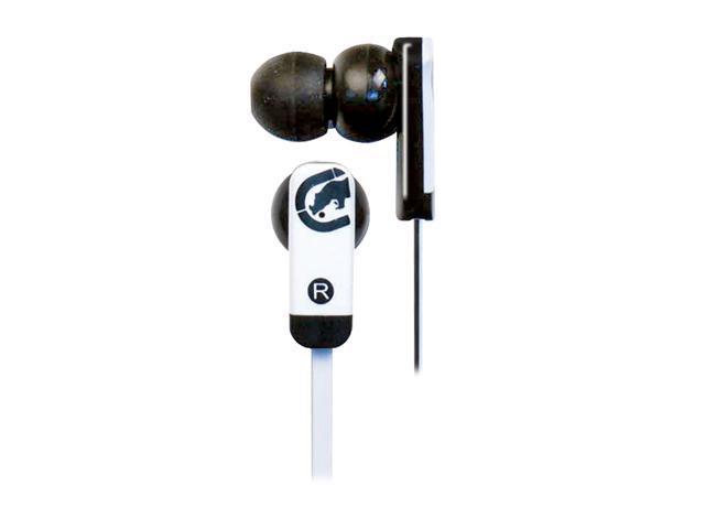Ecko EKU-ZNE-BK 3.5mm Connector Canal Zone Ear Buds - Black