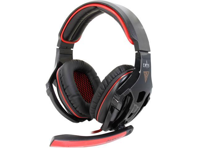 GAMDIAS EROS USB Connector Circumaural Surround Sound Gaming Headset