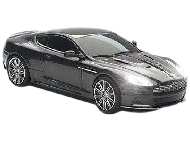 Estand Aston Martin DBS CCM660158 Black 1 x Wheel USB RF Wireless 800 dpi Optical Mouse