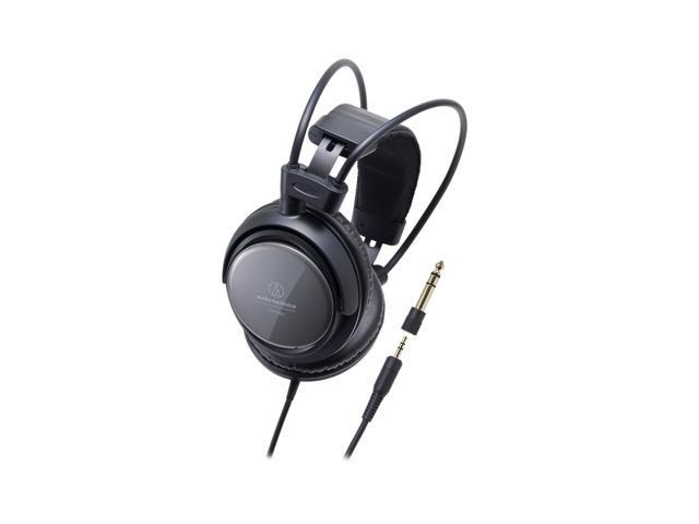 Audio-Technica ATH-T400 3.5mm/ 6.3mm Connector Circumaural Closed-back Dynamic Monitor Headphone