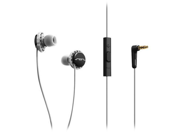 Sol Republic Black/White 1131-41 Relays 3-Button In-Ear Headphones