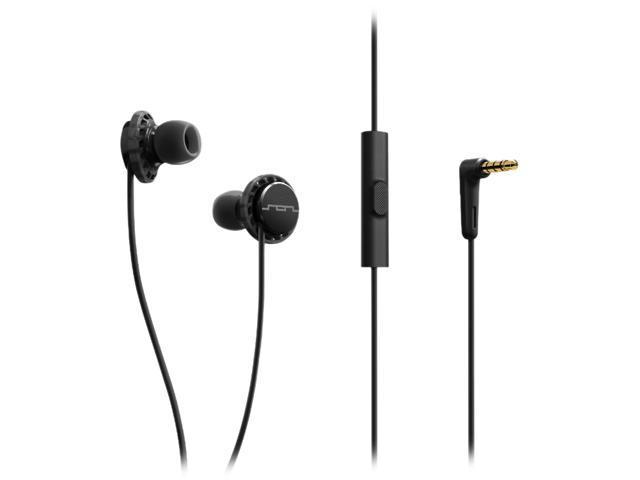 Sol Republic Black 1132-31 Relays 3-Button In-Ear Headphones