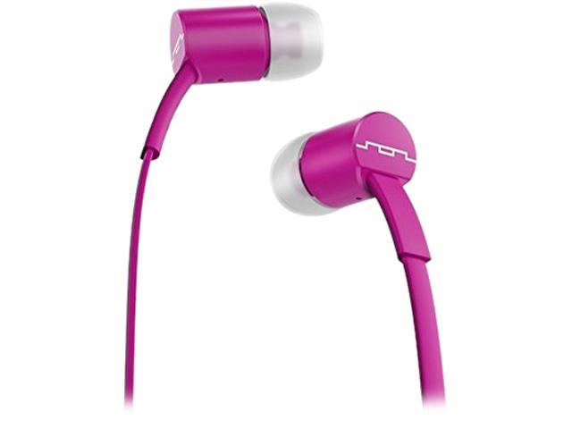 Sol Republic Violet 1112-58 Jax In-Ear Headphones with Single-Button Remote and Microphone