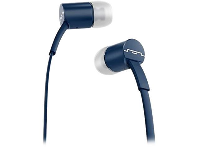 Sol Republic Navy 1112-66 Jax In-Ear Headphones with Single-Button Remote and Microphone