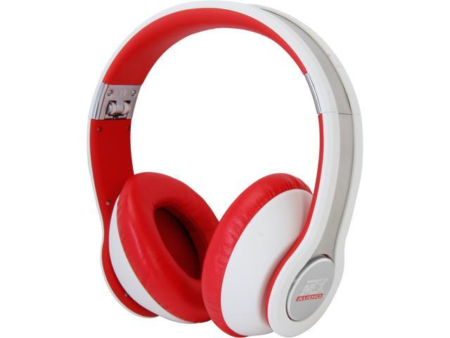 StreetAudio On Ear Acoustic Monitor Headphones- White