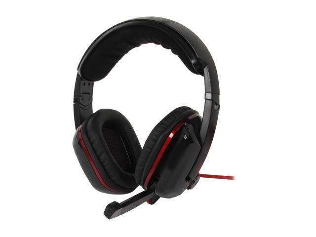 AZIO Levetron GH808 USB Connector Circumaural Gaming Headset
