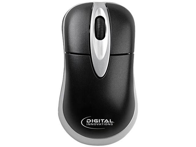 MICRO INNOVATIONS 4230600 Black 3 Buttons Easyglide Wired USB Mouse