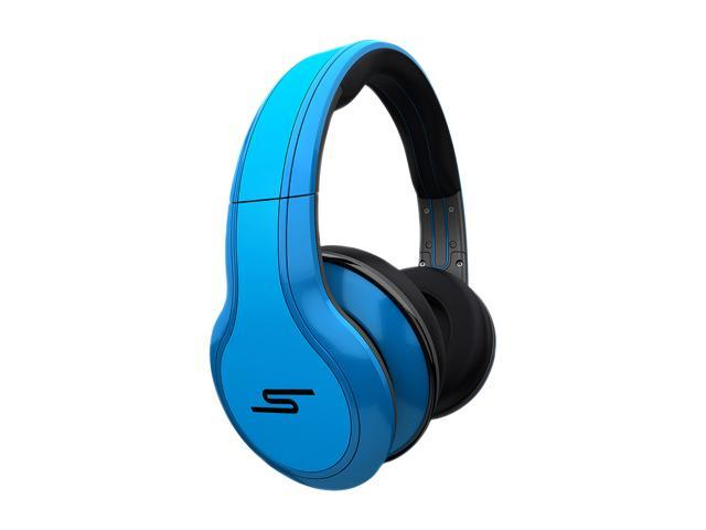 SMS Audio Blue SMS-WD-BLU 3.5mm Connector Over-Ear STREET by 50 Wired Headphone