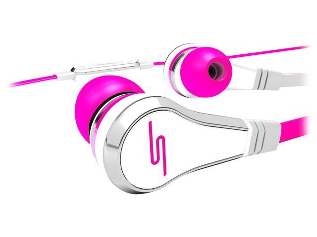 SMS Audio STREET by 50 Pink SMS-WD-RED Wired Earbuds