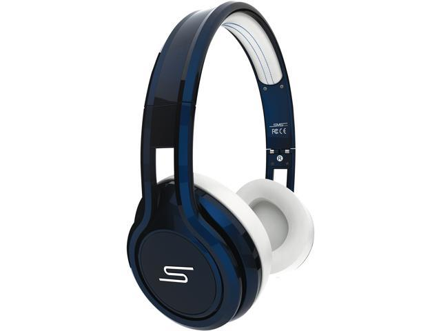 SMS Audio STREET by 50 Blue SMS-ONWD-BLU Wired On-Ear Headphones